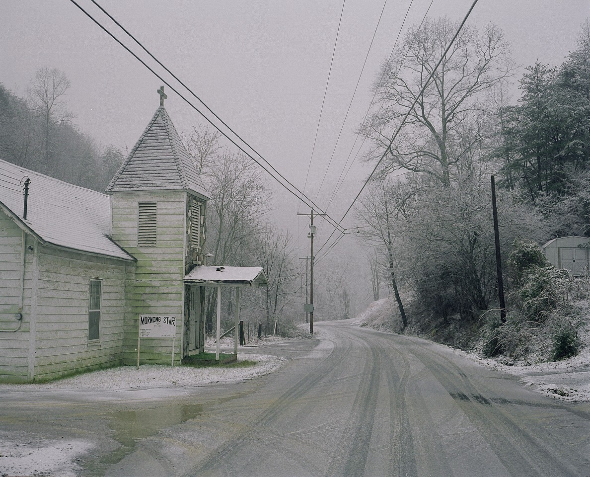 Mike Smith ,   Cash Hollow, Tennessee  ,  2004     Chromogenic color print ,  20 x 24 in.     From series and book